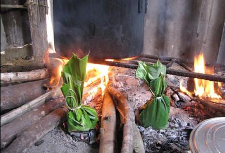 Món rêu đá của người Thái