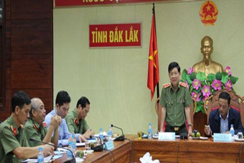 Đoàn công tác Ban chỉ đạo các Chương trình Mục tiêu quốc gia Trung ương làm việc tại Đắc Lắc