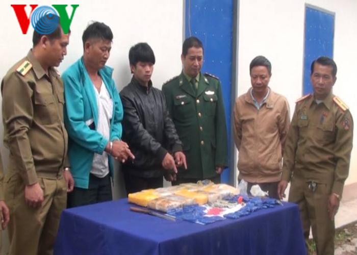 Điện Biên phối hợp với Lào xóa sổ điểm trung chuyển ma túy lớn