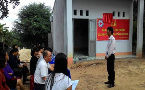 26 hộ dân tộc thiểu số nghèo ở Kon Tum có nhà mới đón Tết
