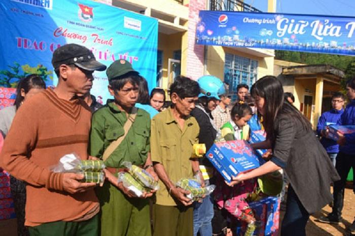 Gần 40 ngàn hộ nghèo Quảng Ngãi được nhận quà Tết