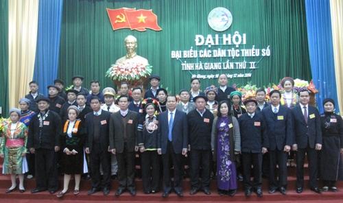 Đại hội dân tộc thiểu số tỉnh Hà Giang